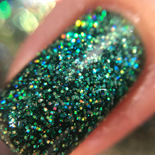 Cupcake Polish Emerald - Green Holographic Indie Nail Polish