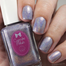 Lavender - purple holographic nail polish by Cupcake Polish