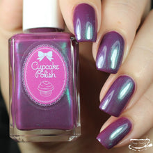 All Tide Up - mauve multichrome indie nail polish
