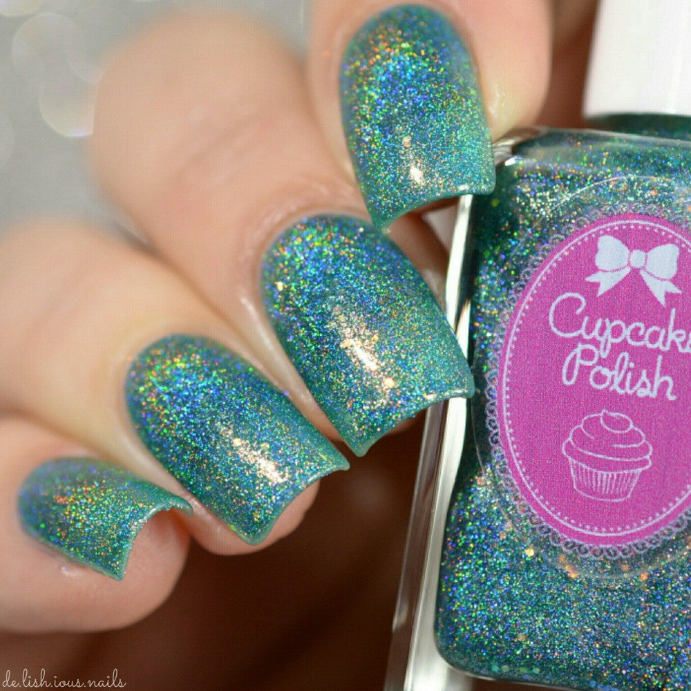 Mermaid You Look - Holographic Glitter Indie Nail Polish – Cupcake ...