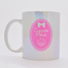 Cupcake Polish Branded Iridescent Mug