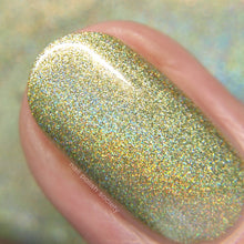 Lemongrass - yellow holographic nail polish by Cupcake Polish
