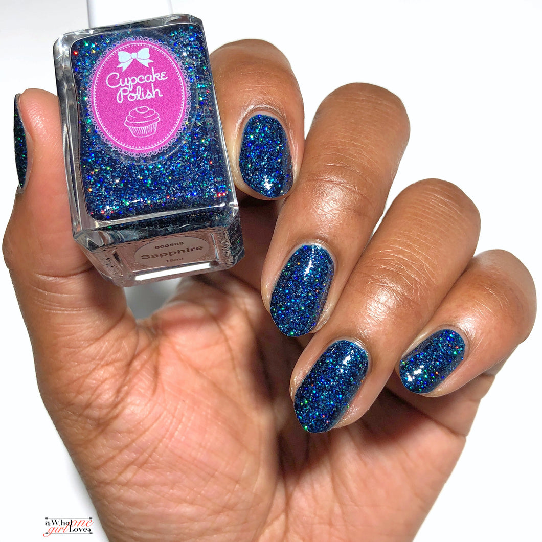 Holographic Glitter Indie Nail Polish By