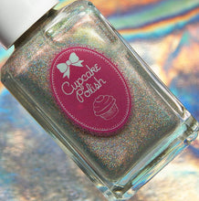 Secret Ingredient - Holographic Topcoat with color shifting Aurora Shimmers