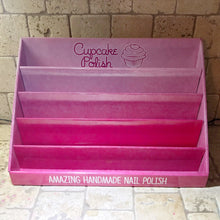 Cupcake Polish branded 5 tier display stand