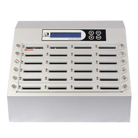 U-Reach 1 to 23 CFast Duplicator and Sanitizer - Silver Series - U-Reach eStore