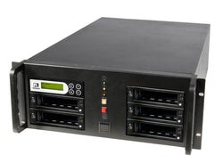 U-Reach 1 to 4 CRU Rackmount Duplicator and Sanitizer - U-Reach eStore