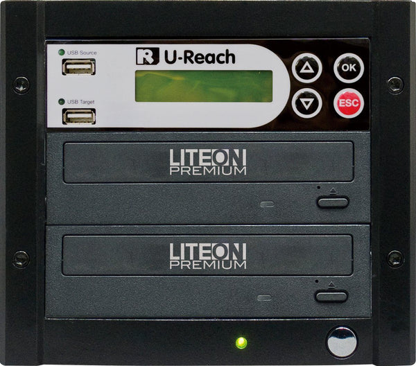 U-Reach 1 to 1 Multimedia USB/DVD Duplicator - U-Reach eStore