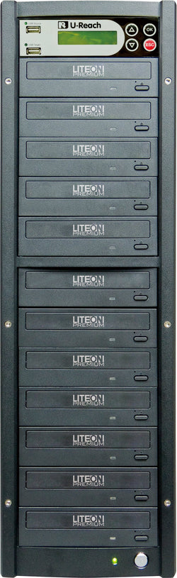 U-Reach 1 to 11 Multimedia USB/DVD Duplicator - U-Reach eStore