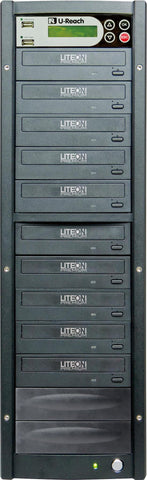 U-Reach 1 to 9 Multimedia USB/DVD Duplicator - U-Reach eStore