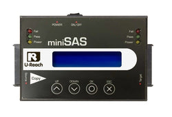 U-Reach 1 to 1 miniSAS Series SAS/SATA/IDE HDD/SSD Duplicator and Sanitizer - U-Reach eStore