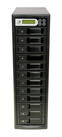 U-Reach 1 to 11 Super 1 Tower Series HDD/SSD Duplicator and Sanitizer - U-Reach eStore