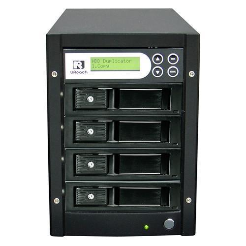 U-Reach 1 to 3 Super 1 Tower Series HDD/SSD Duplicator and Sanitizer - U-Reach eStore