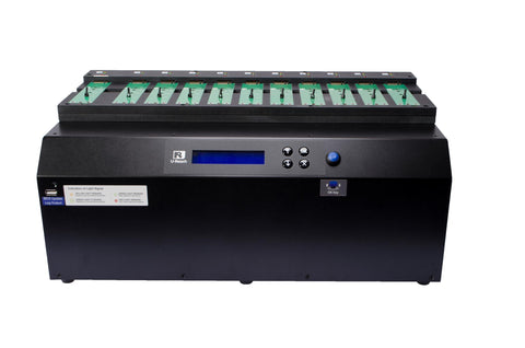 U-Reach M.2 (PCIe)/U.2 NVMe/SATA Duplicator and Sanitizer 1-10 - U-Reach eStore