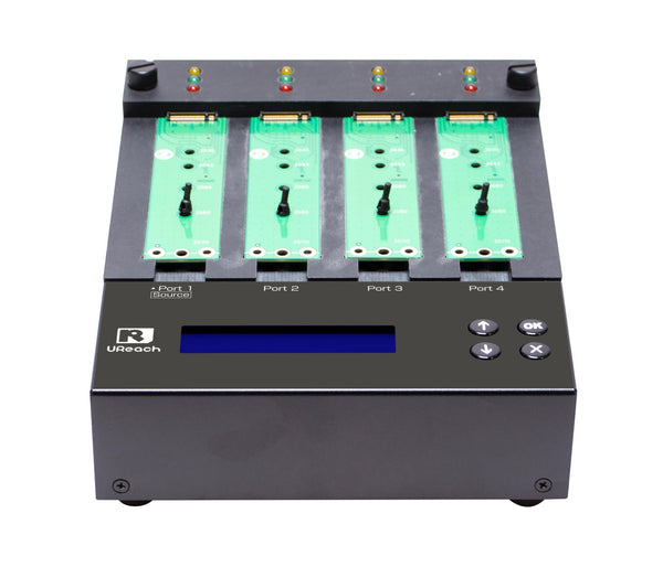 U-Reach Slim Version M.2 NVMe Duplicator and Sanitizer 1-3 - U-Reach eStore
