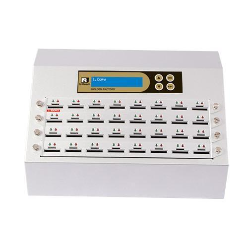 U-Reach 1 to 31 SD/MicroSD Card Duplicator and Sanitizer - Golden Series - U-Reach eStore
