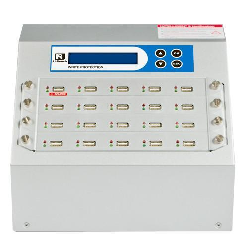 U-Reach 1 to 19 Write Protect USB Duplicator and Sanitizer - U-Reach eStore