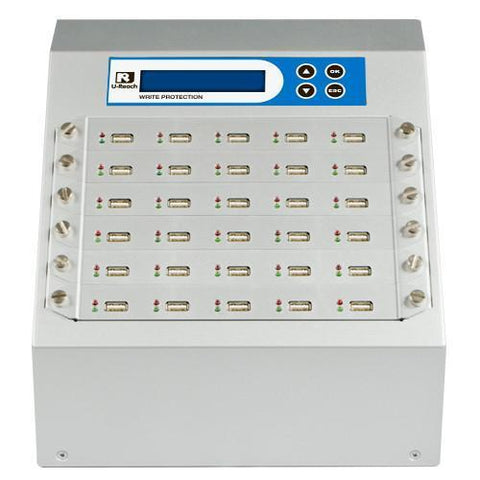 U-Reach 1 to 29 Write Protect USB Duplicator and Sanitizer - U-Reach eStore