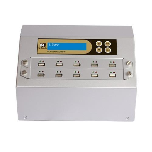 U-Reach 1 to 9 USB Duplicator and Sanitizer - Golden Series - U-Reach eStore