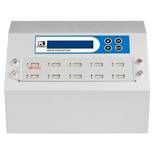 U-Reach 1 to 9 Write Protect USB Duplicator and Sanitizer - U-Reach eStore