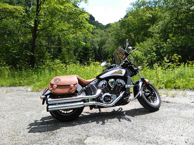 Indian Scout - Saddlebag Frame Kit
