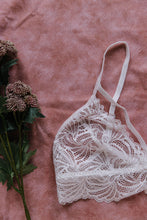 Lacy Strappy Bralette - White