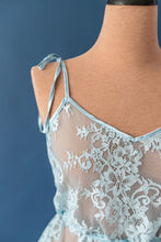 Eyelash Lace Babydoll - Blue - Shawn Johnson East