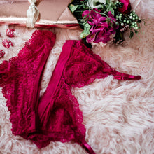 Lacy Set - Fuschia