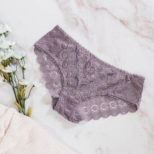 Lacy Hipster Panty - Dusty Plum