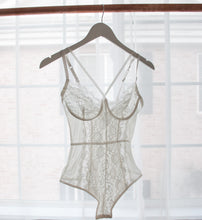 Criss Cross Lacy Teddy - Ivory
