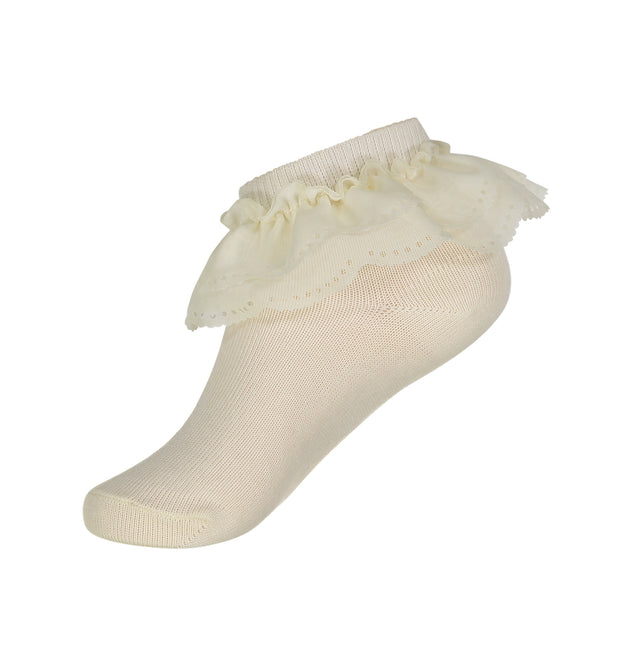 JRP Scallop Lace Anklet Sock