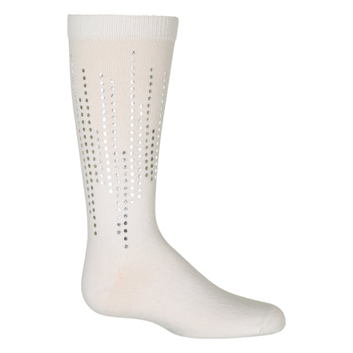 JRP Metallic Dots Knee High Sock