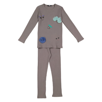 Noggiwear Monster Party 2 Piece Pajamas