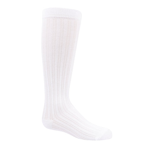Zubii Textured Ribbed Knee Highs