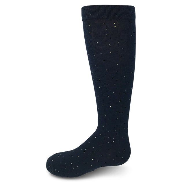Zubii Ribbed Glitter Knee High Sock