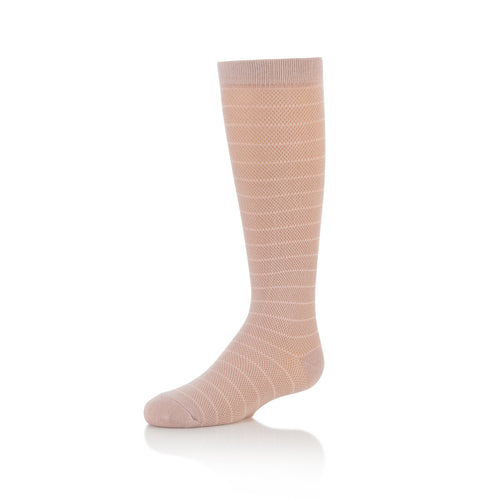 Zubii Horizontal Fishnet Knee High Sock