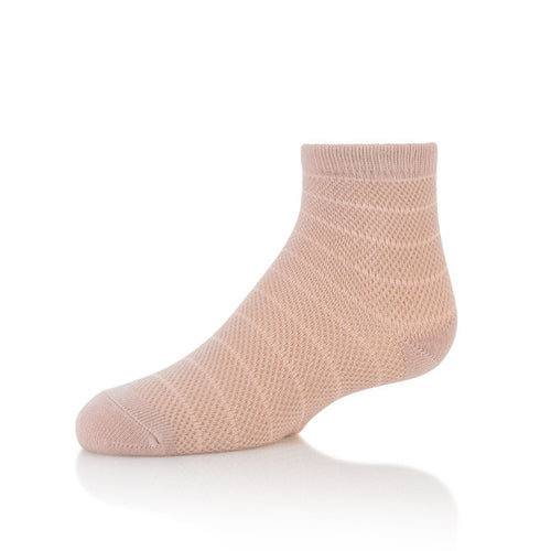 Zubii Horizontal Fishnet Ankle Sock