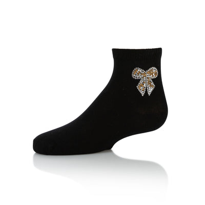 Zubii Bow Ankle Sock