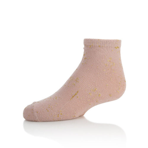 Zubii Metallic Splash Ankle Sock