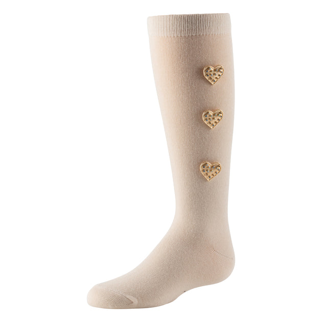 Zubii Hearty Heart Knee High Sock