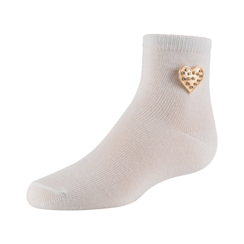 Zubii Hearty Heart Anklet Sock