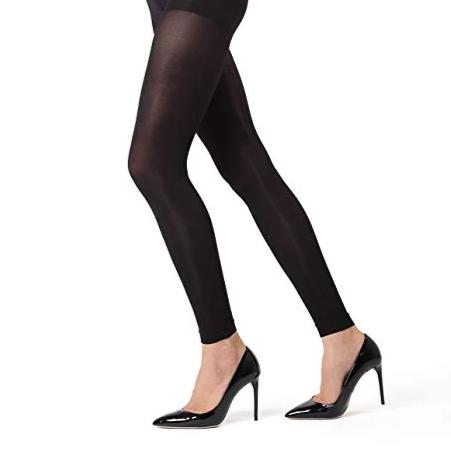 Memoi FirmFit Warm 90 Denier Footless Tights