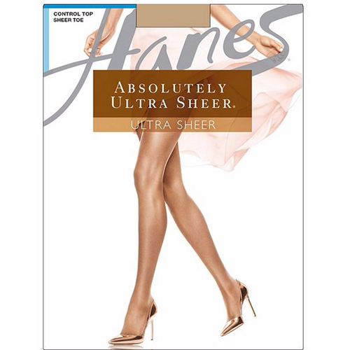 Hanes Absolutely Ultra Sheer SandalFoot Toe Pantyhose