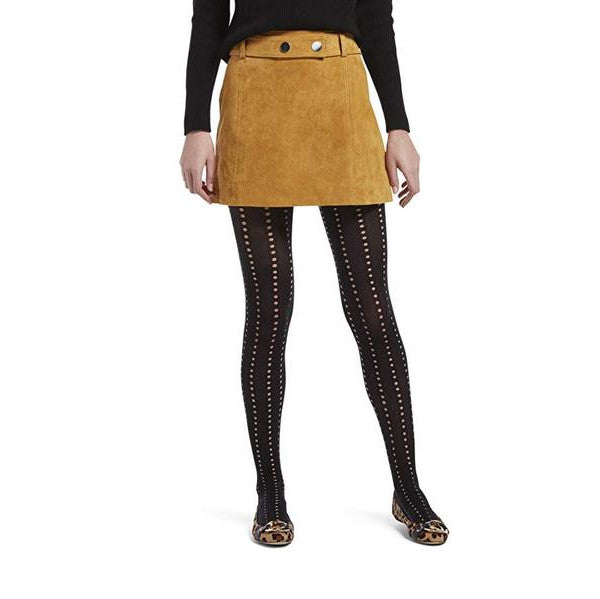 HUE Eyelet Stripe Tights
