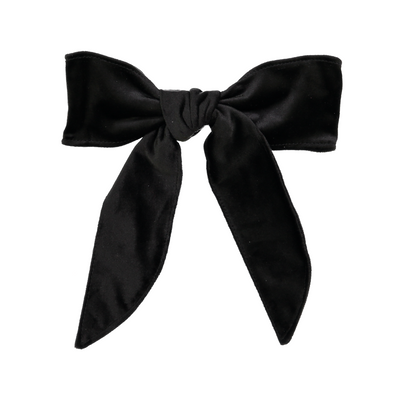 DaCée Designs Large Velvet Bow Clip