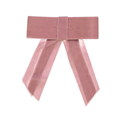 DaCée Designs Large Velvet Ribbon Bow Clip