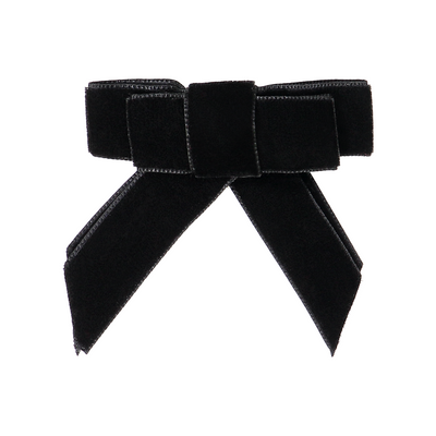 DaCée Designs Small Velvet Ribbon Bow Clip