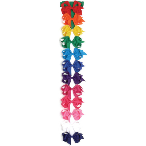 Grosgrain Bow Basic Bright Colors