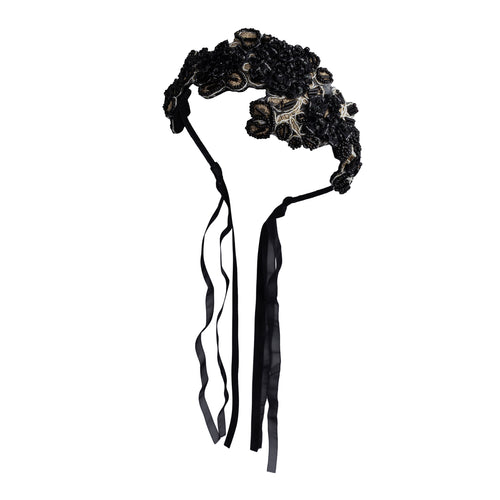 Project 6 NY Blooming Icicles Headband with Hanging Ribbons