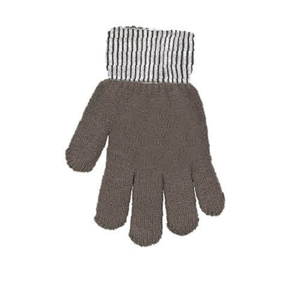 DaCée Designs Metallic Knit Gloves